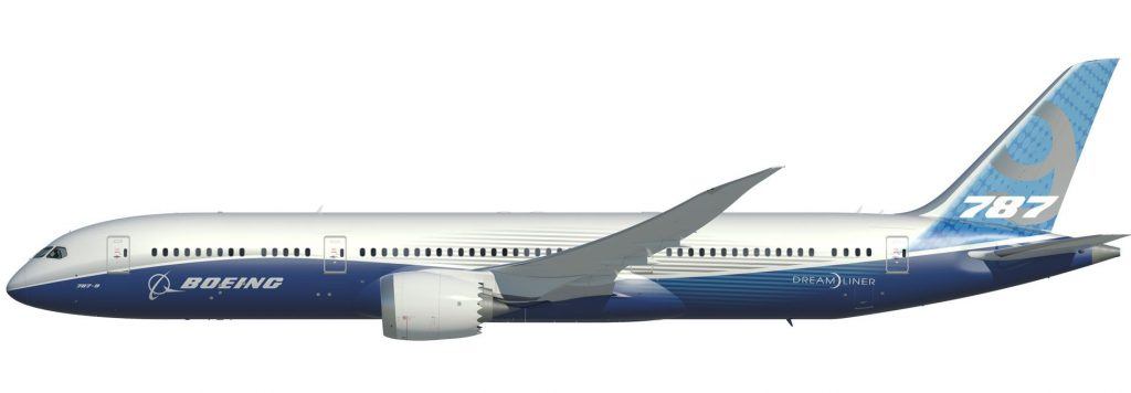Boeing and Airbus March orders - Boeing 787-9